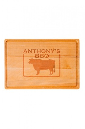 Personalised-Bull-Chopping-Board on sale