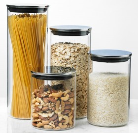 Davis-Waddell-Glass-Canister-Set-of-Four on sale