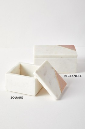 The-Dressing-Room-Marble-Square-Box on sale