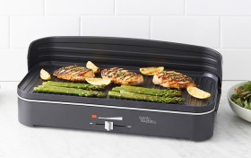 Davis-Waddell-Two-In-One-Electric-BBQ-and-Indoor-Grill on sale