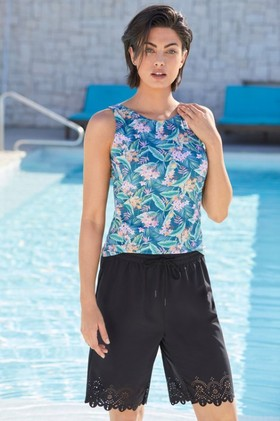 Capture-Swimwear-Laser-Cut-Swim-Shorts on sale