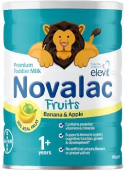 Novalac-Fruits-Premium-Toddler-Milk-800g on sale