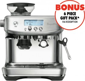 Breville-The-Barista-ProEspresso-Machine-Stainless-Steel on sale