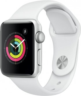 Apple-Watch-Series-3-GPS-38mm-Silver-Aluminium-Case-with-White-Sport-Band on sale