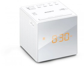 Sony-Clock-Radio-AMFM-White on sale