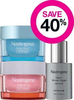 Save-40-on-Neutrogena-Skincare-Range on sale