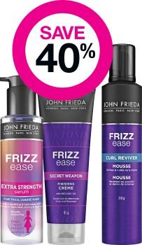 Save-40-on-John-Frieda-Haircare-Range on sale