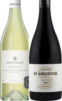 McGuigan-Reserve-or-St-Augustus-750mL-Varieties on sale