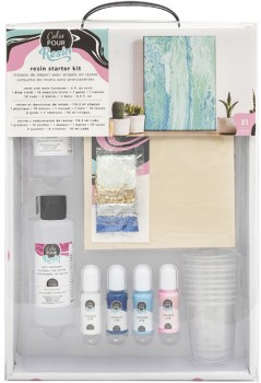 25-off-NEW-American-Crafts-Color-Pour-Resin-Starter-Kit on sale