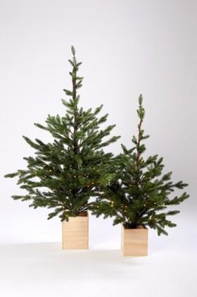 Prelit-Christmas-Tree-with-Box-Planter on sale
