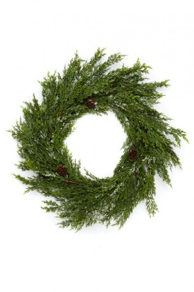 Cypress-Snow-Wreath on sale