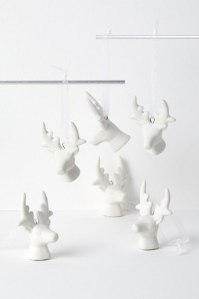 Stag-Hanging-Decorations-Set-of-Six on sale