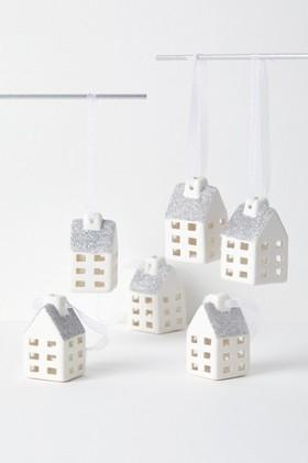 Village-Hanging-Decorations-Set-of-Six on sale