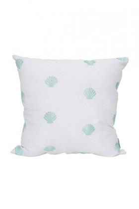 Splosh-Coastal-Embroidered-Shell-Cushion on sale