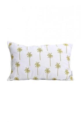 Splosh-Tranquil-Golden-Palm-Cushion on sale