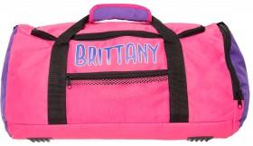 Personalised-Pink-Purple-Sports-Bag on sale
