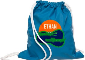 Personalised-Crocodile-Wet-Bag on sale