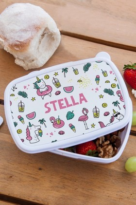 Personalised-Kids-Lunch-Box on sale