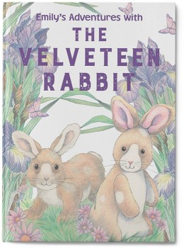 Personalised-My-Adventures-with-the-Velveteen-Rabbit-Book on sale