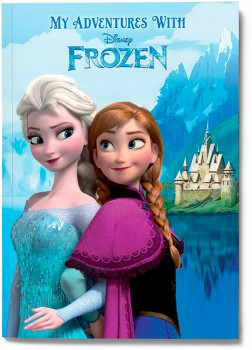 Personalised-My-Adventures-with-Disney-Frozen-Book on sale