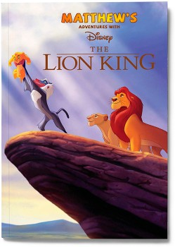 Personalised-My-Adventures-with-the-Lion-King-Book on sale