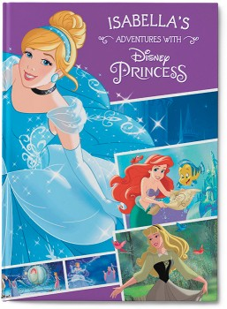 Personalised-My-Adventures-with-Disney-Princess-Collection-Book on sale