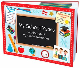 Personalised-My-School-Years-Book-Hardcover on sale