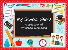 Personalised-My-School-Years-Book-Softcover on sale