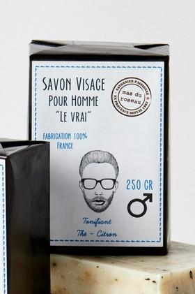 Mas-du-Roseau-Mens-Facial-Soap on sale
