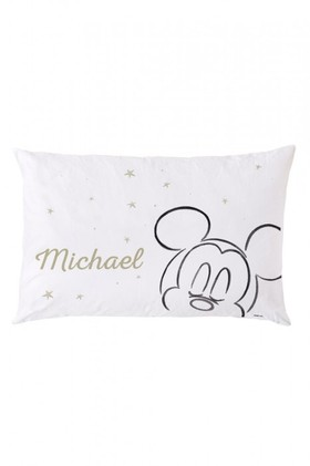 Personalised-Mickey-Mouse-Sleeping-Pillowcase on sale