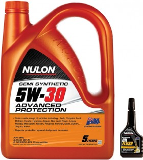 Nulon-Semi-Synthetic-5W30-Advanced-Protection-5LT on sale