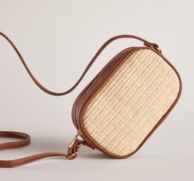 Womens-Straw-Crossbody-Bag on sale