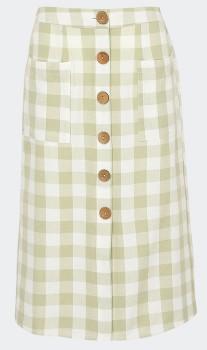 Womens-Button-Through-Skirt on sale
