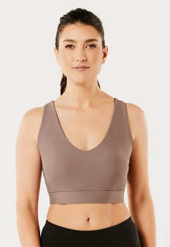 Active-Womens-V-Neck-Crop-Top on sale