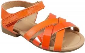 Kids-Sandals-Orange on sale