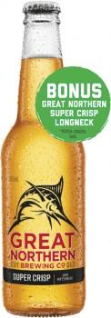 Great-Northern-Super-Crisp-Stubbies-330mL-24-Pack on sale