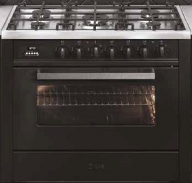 NEW-ILVE-90cm-Upright-Cooker-Matte-Graphite on sale