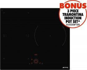 Smeg-60cm-Induction-Cooktop on sale