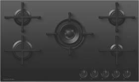 NEW-Fisher-Paykel-90cm-Gas-on-Glass-Cooktop on sale