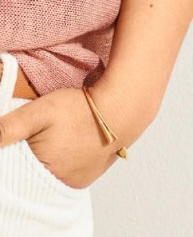 Contemporary-Heart-Bracelet on sale