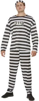 Adult-Convict-Costume on sale
