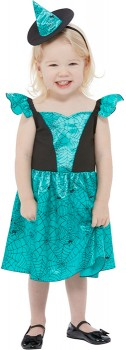 Teal-Witch-Costume on sale