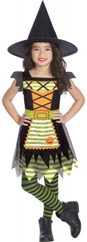 Patchwork-Witch-Costume on sale