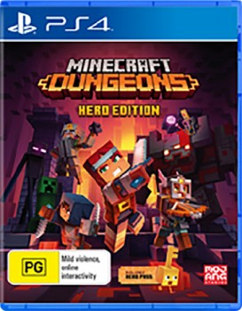 PS4-Minecraft-Dungeons-Hero-Edition on sale