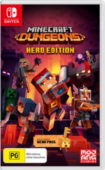 Nintendo-Switch-Minecraft-Dungeons-Hero-Edition on sale