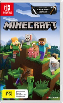Nintendo-Switch-Minecraft-Switch-Edition on sale
