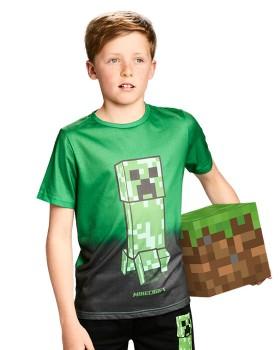Minecraft-Kids-Graphic-Tee-Green on sale