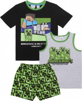Minecraft-Kids-3-Piece-Pyjama-Set on sale