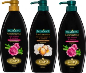 NEW-Palmolive-Luminous-Oils-Shampoo-or-Conditioner-700ml on sale