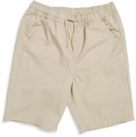 Brilliant-Basics-Kids-Drill-Shorts on sale